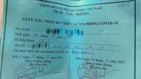 """Vụ cô gái """"xin ông anh"""" tiêm vaccine: Phó Chủ tịch phường bị đình chỉ công tác"""