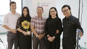 MC Quỳnh Hương và nghệ sĩ Trung Dân là 2 trong số các nghệ sĩ đồng hành cùng chương trình