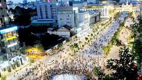 Dự kiến 50.000 người dự lễ đếm ngược đón năm mới tại phố đi bộ Nguyễn Huệ