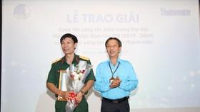 Trao giải hai cuộc thi chào mừng Đại hội toàn quốc Hội Liên hiệp Thanh niên Việt Nam