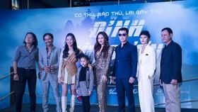 Ngô Thanh Vân và dàn sao háo hức xem phim võ thuật Việt