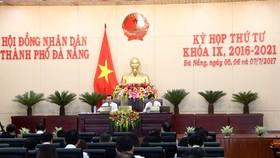 Kỳ họp thứ 4 HĐND thành phố Đà Nẵng khóa IX nhiệm kỳ 2016-2021