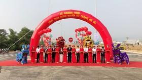 Lãnh đạo TP Đà Nẵng cắt băng khánh thành đường Nguyễn Tất Thành nối dài, mở rộng cửa ngõ phía Bắc
