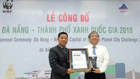 Đà Nẵng được công nhận là Thành phố Xanh Quốc gia năm 2018