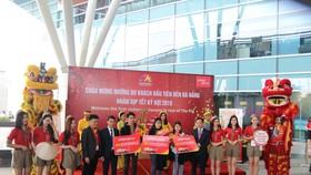Đà Nẵng đón chuyến bay chở 180 du khách quốc tế đến xông đất năm Kỷ Hợi