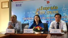 """Họp báo công bố chương trình Liên hoan âm nhạc Học sinh – Sinh viên thành phố Đà Nẵng """"My Music – Tỏa sáng đam mê"""" năm 2019"""