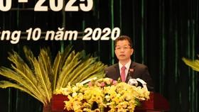 Đồng chí Nguyễn Văn Quảng, Phó Bí thư Thường trực Thành ủy Đà Nẵng khóa XXI được bầu làm Bí thư Thành ủy Đà Nẵng khóa XXII