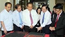 Giới thiệu di sản Mộc bản triều Nguyễn với cộng đồng quốc tế