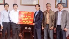 TPHCM hỗ trợ người dân Lâm Đồng chịu thiệt hại bão số 12