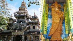 Xác lập kỷ lục Tượng Phật bằng hoa bất tử lớn nhất thế giới