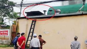 Lên mái nhà thông ống khói, người đàn ông bị điện giật nguy kịch