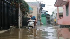 Đà Lạt mưa dữ dội kèm mưa đá, nhiều nơi ngập nặng