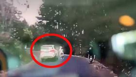 Tạm giữ nam thanh niên đi ô tô tông chết phụ nữ đang mang thai