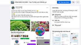 """Hàng trăm người bị lừa mua """"rau hữu cơ Đà Lạt"""" qua mạng giữa mùa dịch"""