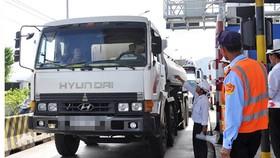 Cảnh ùn tắc luôn xảy ra tại trạm BOT Ninh Lộc