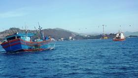 Vụ 26 ngư dân Bình Định mất tích trên biển: Đã tìm thấy vị trí nơi chìm tàu