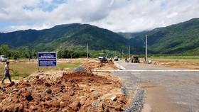 Công trình tái định cư cho các hộ dân bị giải tỏa trong dự án đường cao tốc Bắc - Nam đoạn qua tỉnh Khánh Hòa
