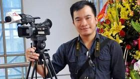 Phóng viên Đinh Hữu Dư của TTXVN (Ảnh: Facebook Đinh Hữu Dư)