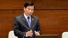 Bộ trưởng Nguyễn Ngọc Thiện