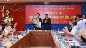 Điều động Bí thư tỉnh Hà Nam làm Bí thư Đảng đoàn Tổng Liên đoàn Lao động Việt Nam
