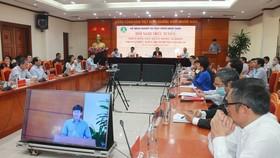 Hội nghị trực tuyến về thúc đẩy nông nghiệp trước tình hình dịch phức tạp do Bộ NN-PTNT tổ chức chiều 12-3