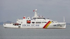 Kiểm ngư xua đuổi hàng trăm tàu cá nước ngoài vi phạm vùng biển Việt Nam
