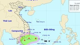 Biển Đông sắp đón áp thấp nhiệt đới