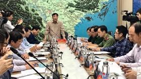 Bộ trưởng Nguyễn Xuân Cường chủ trì cuộc họp