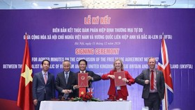 Việt Nam kết thúc đàm phán Hiệp định UKVFTA với UK