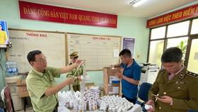 Phát hiện gần 300.000 sản phẩm thuốc nghi nhập lậu qua cảng hàng không Nội Bài