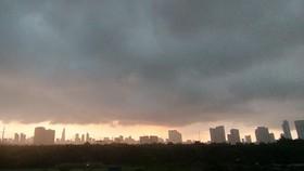 Miền Nam mưa gió lan rộng