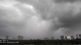 Chiều nay 16-7, TPHCM có thể lặp lại cơn mưa hôm qua