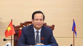 Bộ trưởng LĐTB-XH chia sẻ với ASEAN về những nỗ lực vượt qua đại dịch Covid-19 của Việt Nam