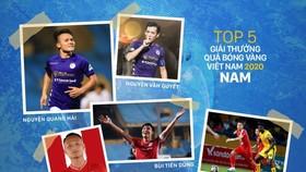 Năm 2021 sẽ khởi đầu với danh hiệu Quả bóng vàng Việt Nam.