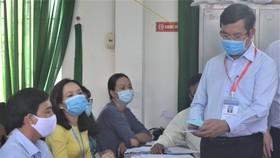 Sở GD-ĐT tỉnh Long An lên kịch bản ứng phó với dịch Covid-19 trong kỳ thi THPT