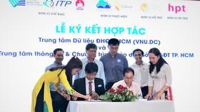 ĐH Quốc gia TPHCM và Sở GD-ĐT TPHCM ký kết hợp tác chuyển đổi số cho giáo dục phổ thông