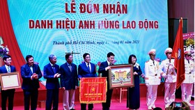Trường ĐH Y dược TPHCM nhận danh hiệu Anh hùng Lao động thời kỳ đổi mới