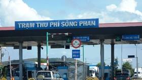Các phương tiện của người dân sống gần Trạm thu giá Sông Phan được giảm giá vé.