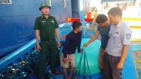Tang vật được ngành chức năng tỉnh Bình Thuận thu giữ.