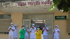 2 ca mắc Covid-19 cuối cùng ở tỉnh Bình Thuận khỏi bệnh và được ra viện