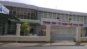 Trung tâm Y tế TP Phan Thiết.