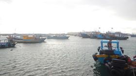 Tàu Panama gặp nạn cách đảo Phú Quý khoảng 1,5 hải lý.