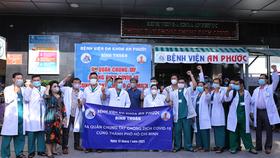 14 y, bác sĩ của tỉnh Bình Thuận lên đường hỗ trợ TPHCM chống dịch.
