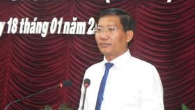 Ông Nguyễn Hoài Anh, Phó Bí thư Thường trực Tỉnh ủy Bình Thuận được bầu giữ chức Chủ tịch HĐND tỉnh. (Ảnh chụp tại Kỳ họp thứ 8 - HĐND tỉnh Bình Thuận khóa X).