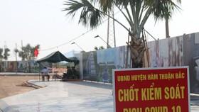Một số nơi tại huyện Hàm Thuận Bắc còn chưa thực hiện tốt công tác phòng, chống dịch Covid-19.