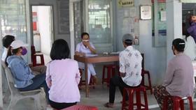 Tổ chức khai báo y tế, xét nghiệm sàng lọc Covid-19 trong cộng đồng tại tỉnh Bình Thuận.