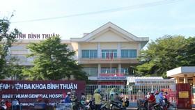 Bệnh viện Đa khoa Bình Thuận bị phong tỏa sau khi phát hiện bác sĩ B. bị mắc Covid-19