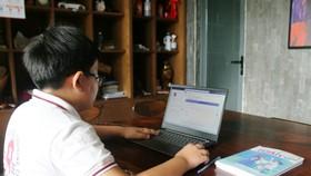 Một số trường học ở TP Phan Thiết đã tổ chức việc dạy học bằng hình thức trực tuyến cho học sinh