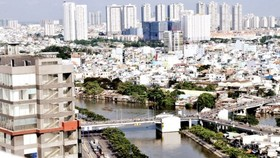 Many buildings have been developed in HCMC (Photo: SGGP)