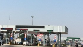 A BOT toll station